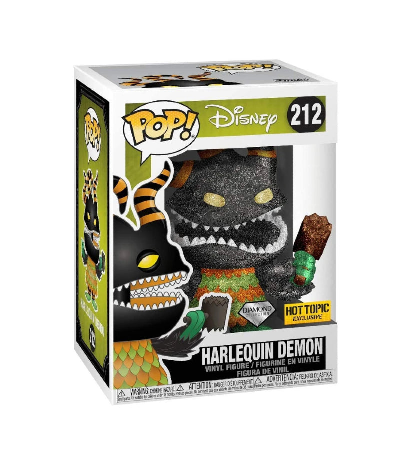 Harlequin Demon - Disney - 212 - POP - Hot Topic Exclusive - Diamond Edition