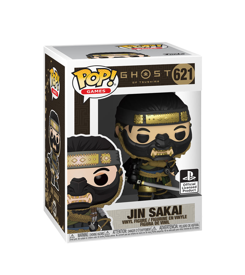 Jin Sakai - Ghost Of Tsushima - 621 - POP Games - Playstation