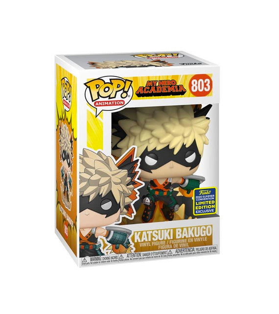 Katsuki Bakugo My Hero Academia Pop Animation 803 - 2020 Summer Convention Limited Edition Exclusive