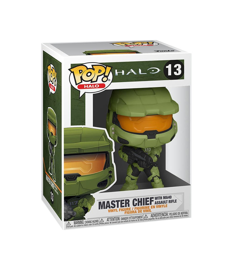 Funko POP! HALO Infinite Master Chief with Pin Set Special Edition