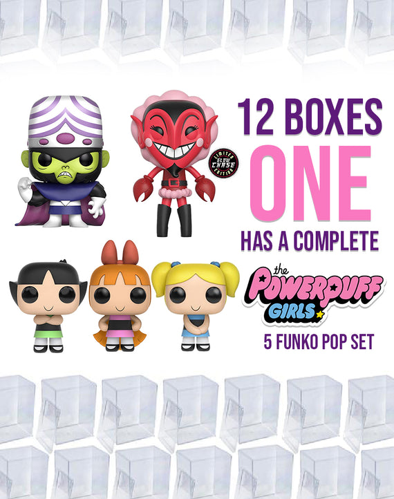 20 Pack of Hard Cases + Chance Box : Powerpuff Girls Complete Set