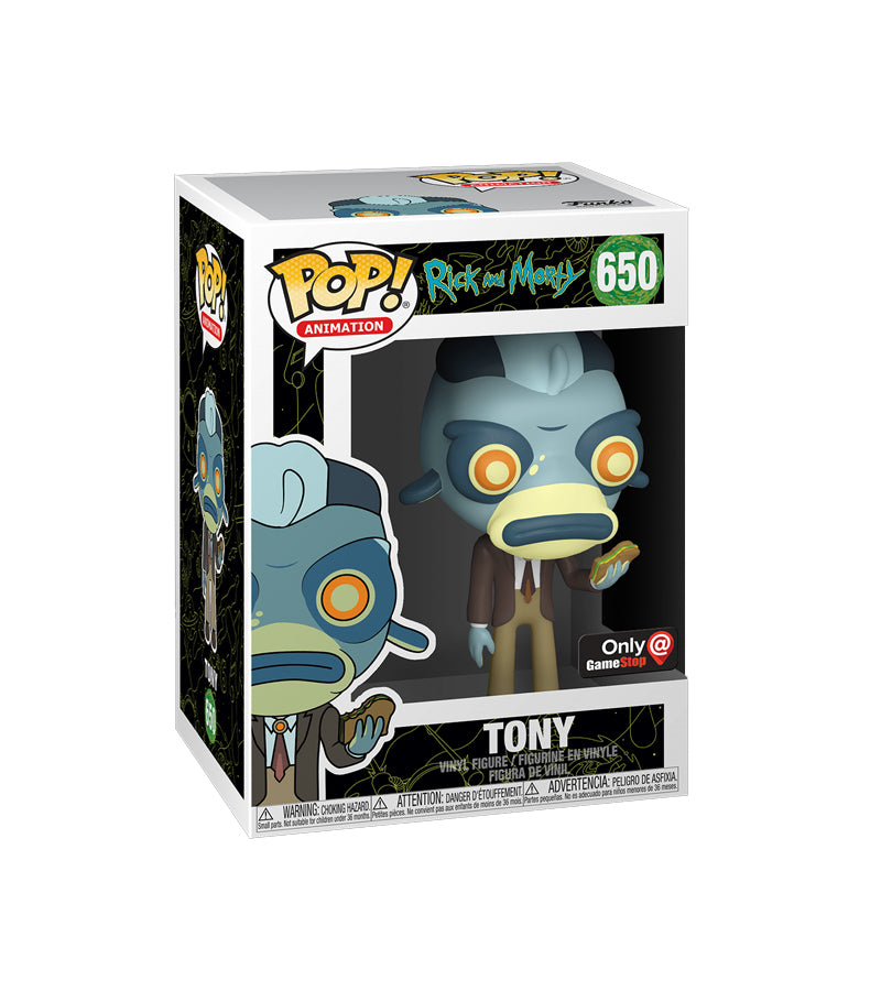 Tony - Rick and Morty - Pop Animation - #650