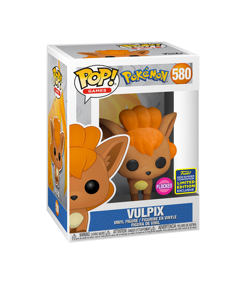 Vulpix - Pokemon 580 Comic Con SDCC 2020 Funko Pop