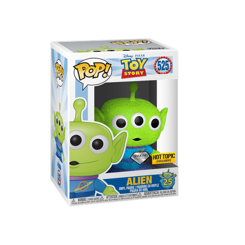 Funko POP! Diamond Collection Toy Story Alien Hot Topic Exclusive #525