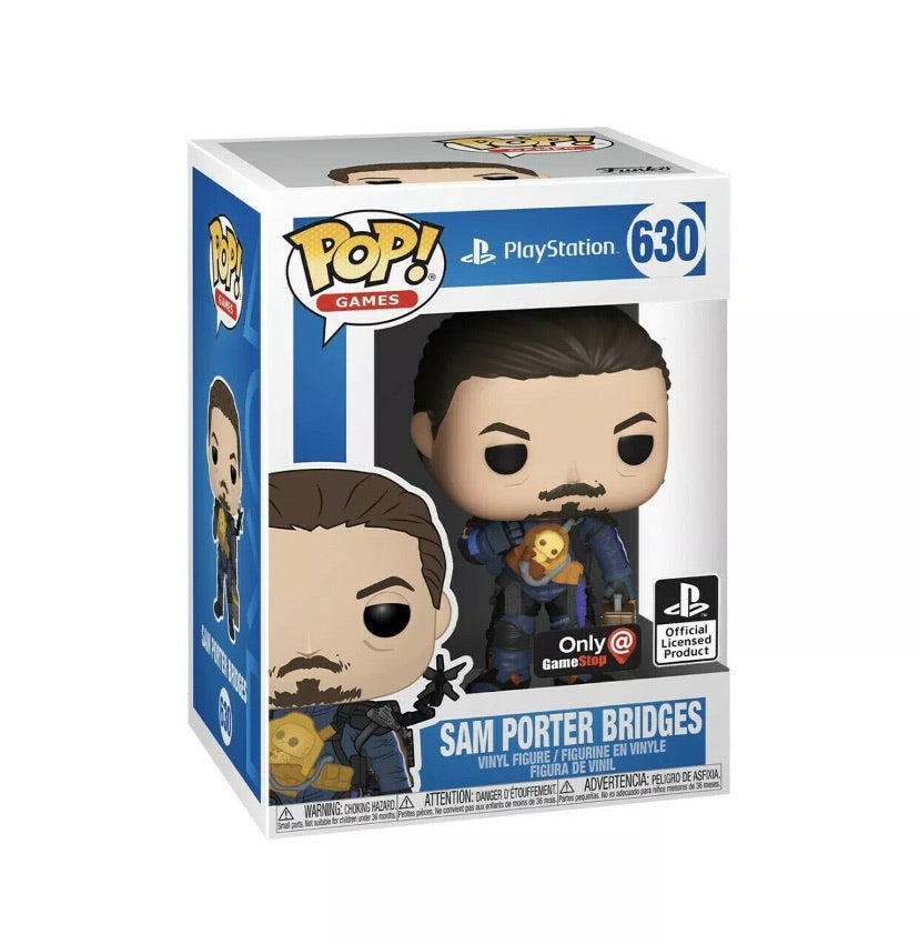 Funko Pop - Death Stranding Sam Bridges- GameStop Exclusive - 630