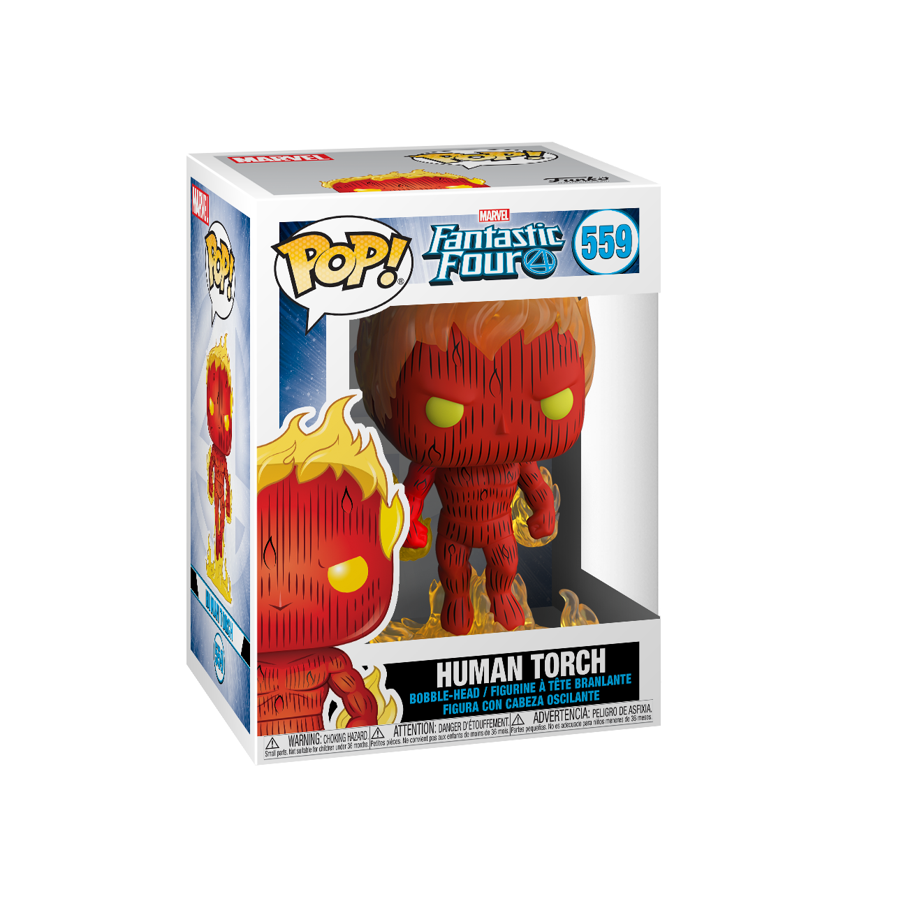 Funko Pop -  Fantastic Four Human Torch Vinyl - 559
