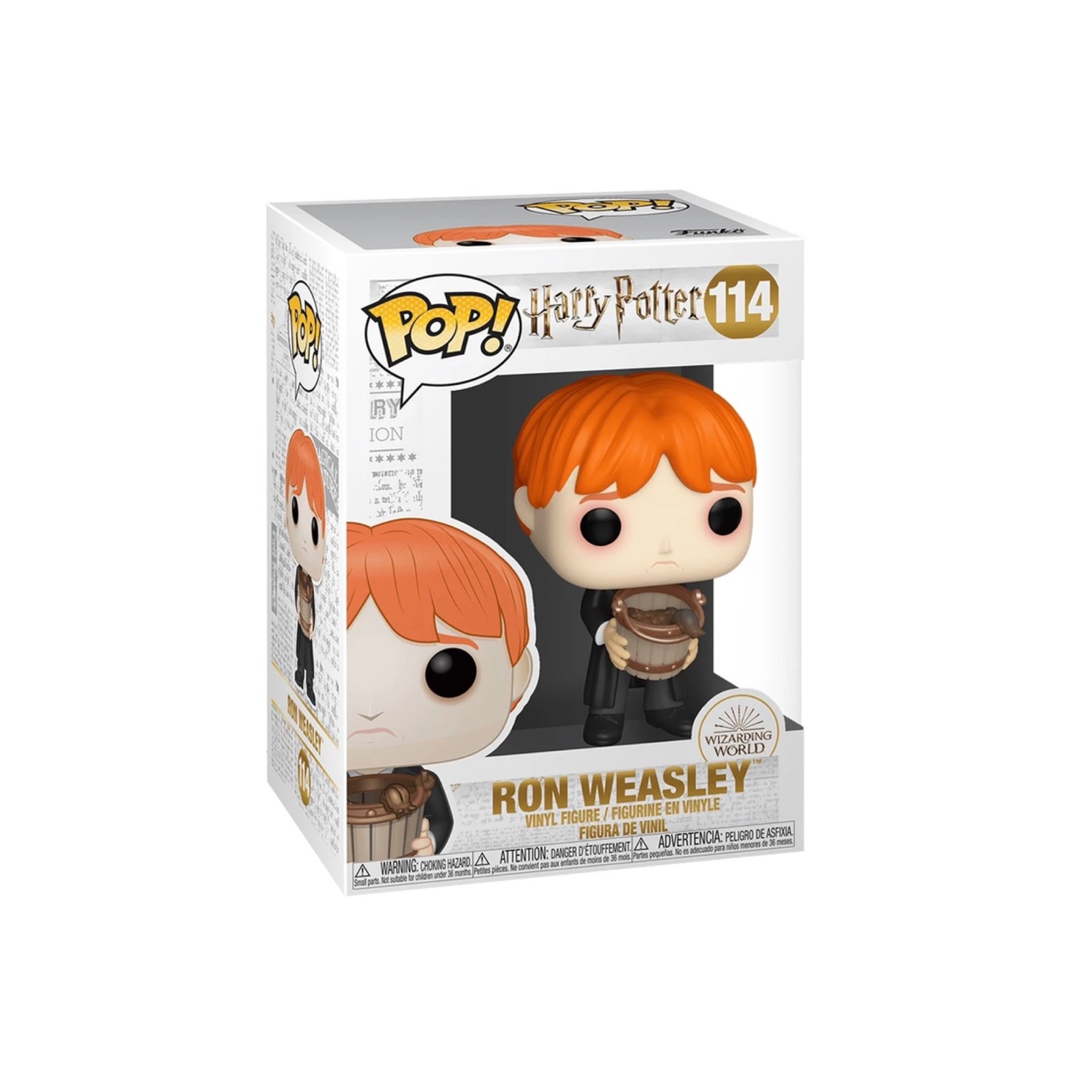 Funko Pop Vinyl Figurine Ron Weasley puking slugs #114 - Harry Potter