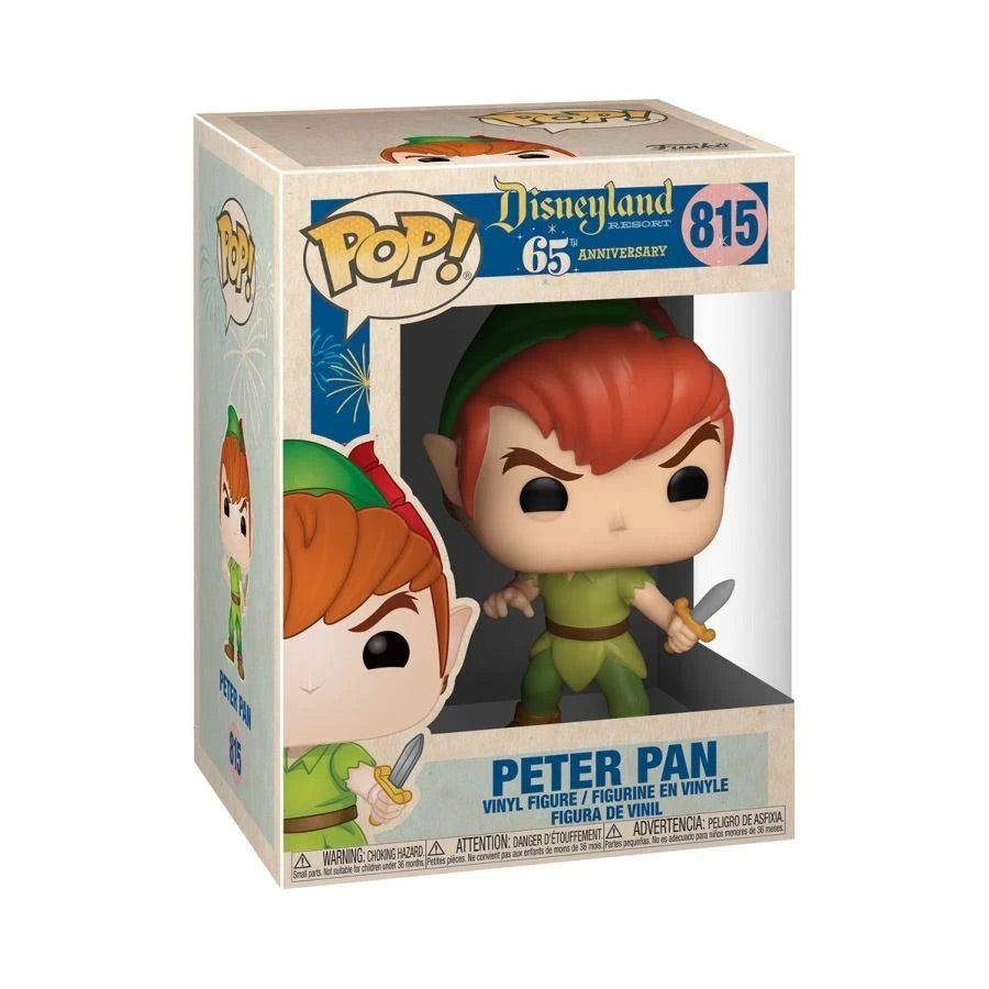 Peter Pan #815 – Disneyland 65th Anniversary Pop! Vinyl Figure