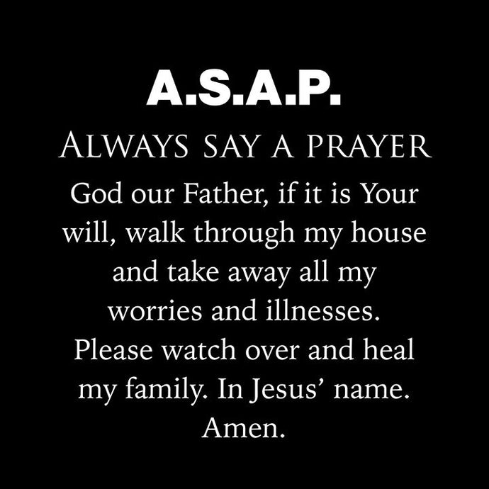 Always Pray 🙏