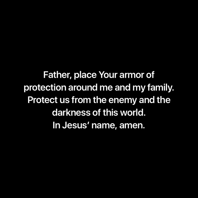 Protection Prayer 💚