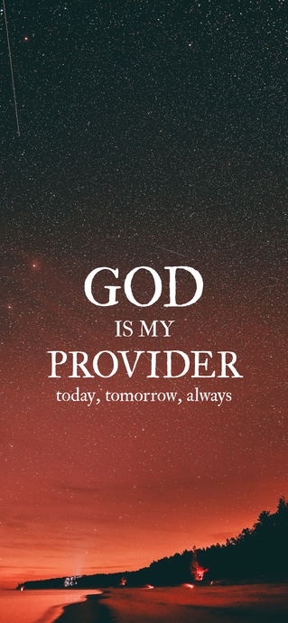 God is my provider