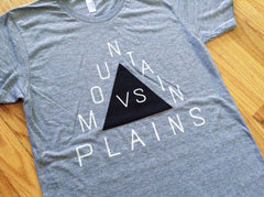 Mountain Tee (Athletic Grey)