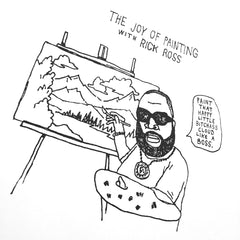 Rick Ross Screen Print