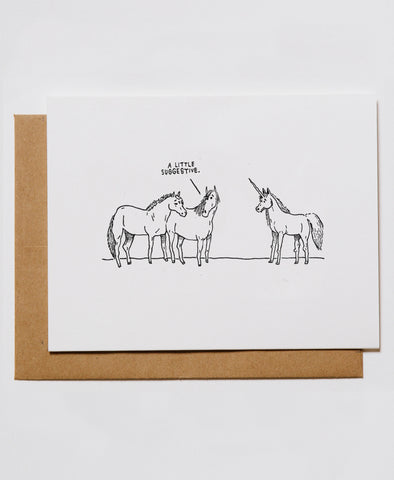 Suggestive Unicorns