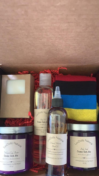 Men pamper box
