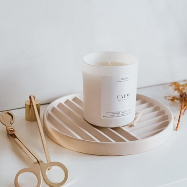 Aija Candle Studio | Minimalist Soy Candle | Calm | 249g