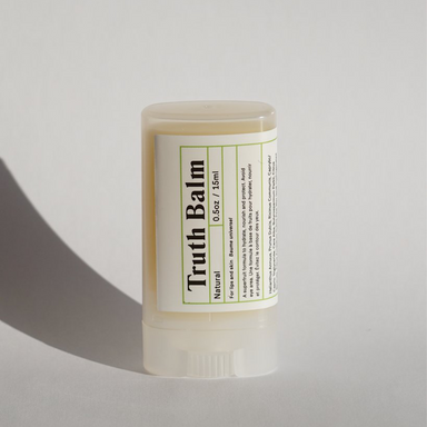 Amalusta Natural Truth Balm with cap on