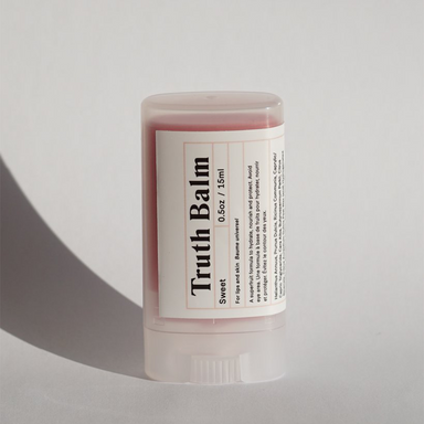 Amalusta Sweet Truth Balm with cap on