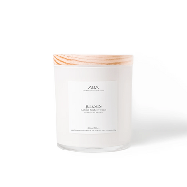 Minimalist Soy Candle | Cherry Wood | 249g