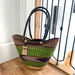 Shoulder Shopper | Large | Deep Blue & Green