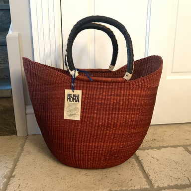 U Shopper Basket | Large | Deep Brown