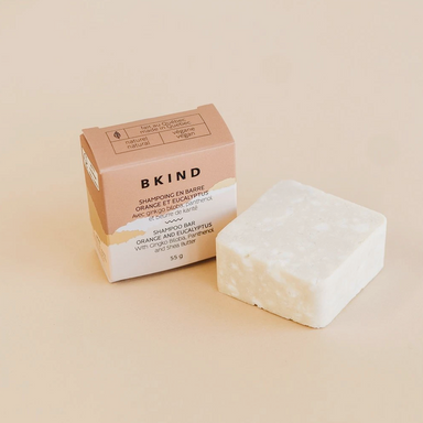 Bkind | Moisturizing Shampoo Bar | Tangerine & Juniper Berry | 1 Bar