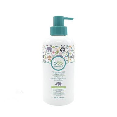 Natural Baby Shampoo & Body Wash | Unscented | 600ml