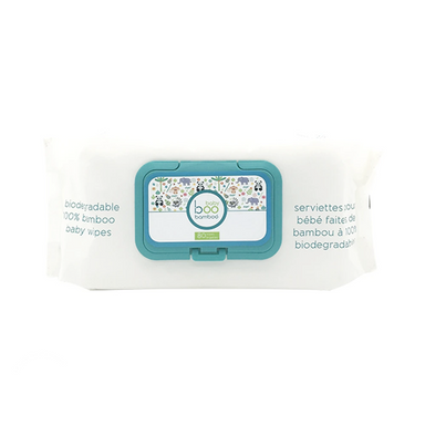 Biodegradable Baby Wipes | 100% Bamboo | 80 Wipes