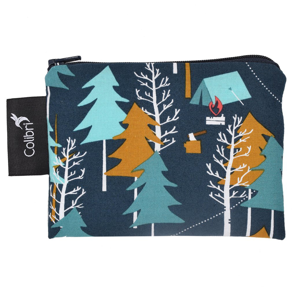 Colibri | Reusable Snack Bag | Camp Out | Various Sizes