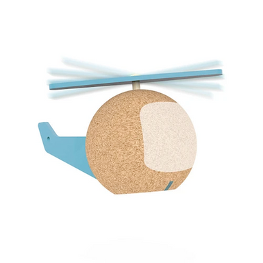 ELOU Sustainably Grown Cork Helicopter Toy