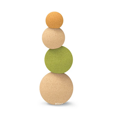 ELOU Sustainably Grown Cork Stacking Toy