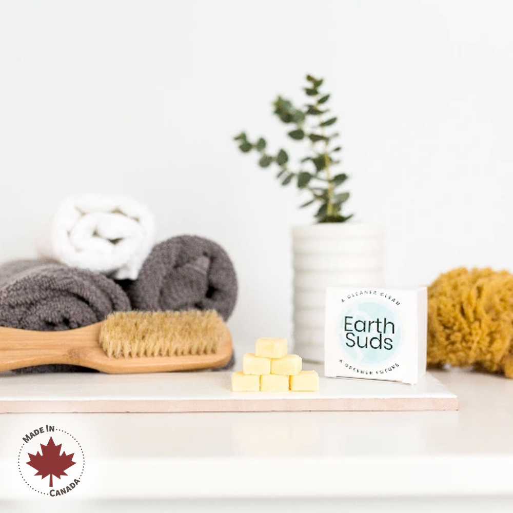 EarthSuds shampoo conditioner body wash tabs