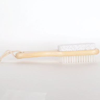 Bamboo Foot Brush | Natural