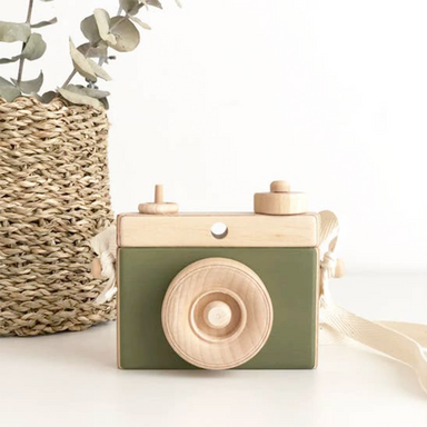 Classic Wooden Camera | Olive
