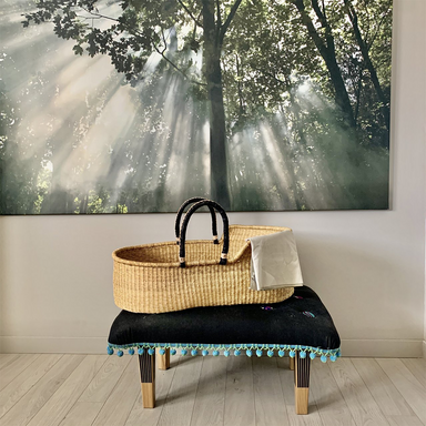 Moses Basket / Basinet | Elephant Grass