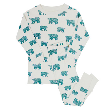 Organic Kids Pajamas | Blue Bears
