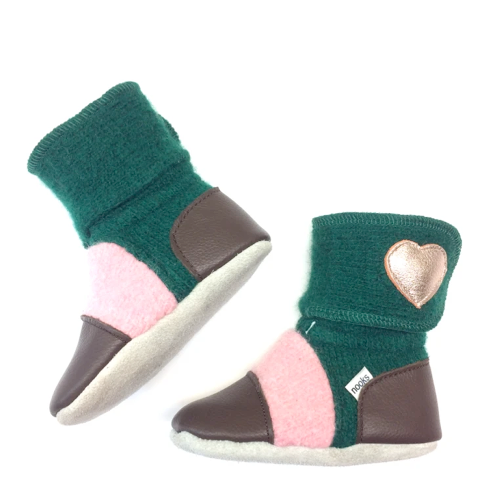 Breathable Booties | 100% Wool | 1 Pair | Aspen