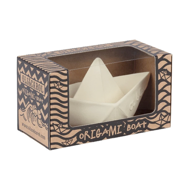 Oli & Carol Origami Boat White Soap in box