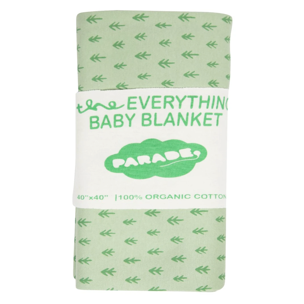 Parade Baby 40-inch square baby blanket with jade tree pattern
