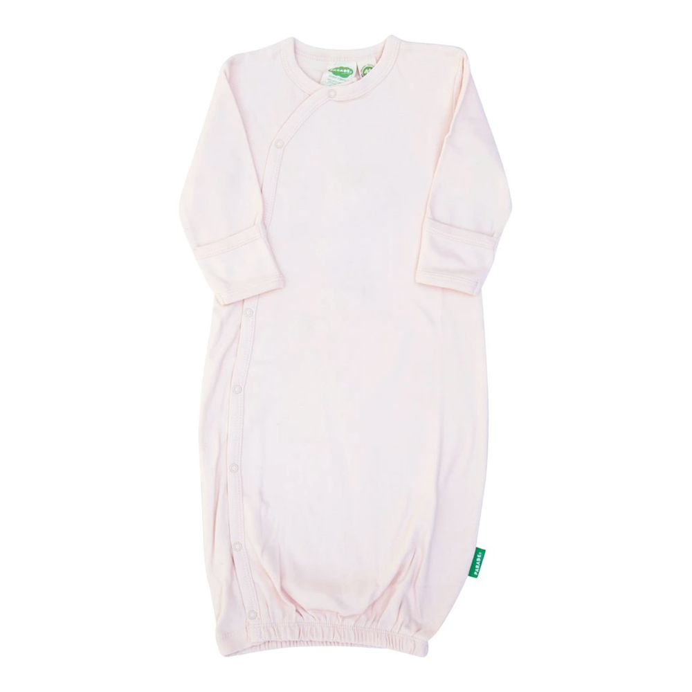 Parade Baby Kimono Gown in rosewater pink