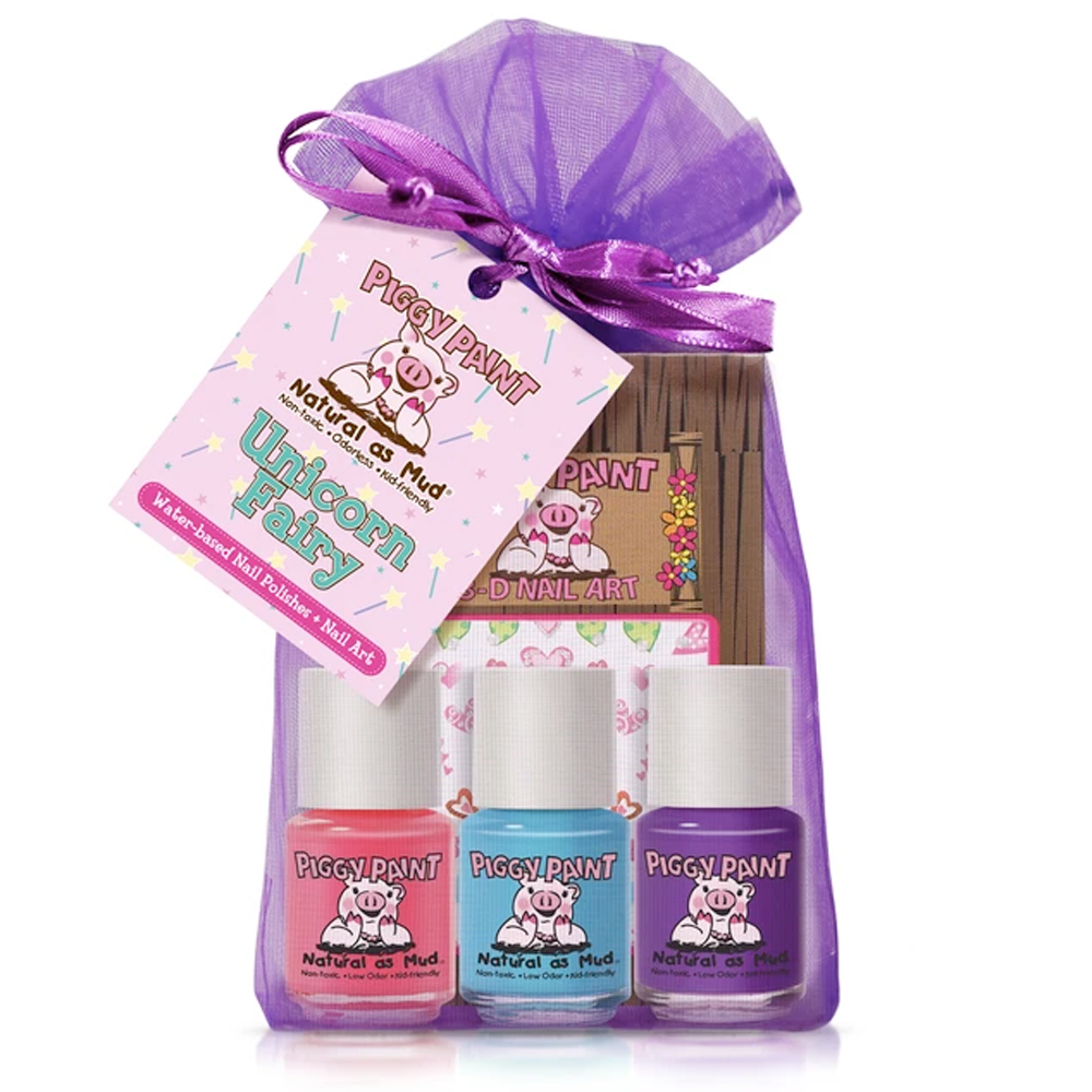 Piggy Paint Non-Toxic Unicorn Nail Polish Gift Set