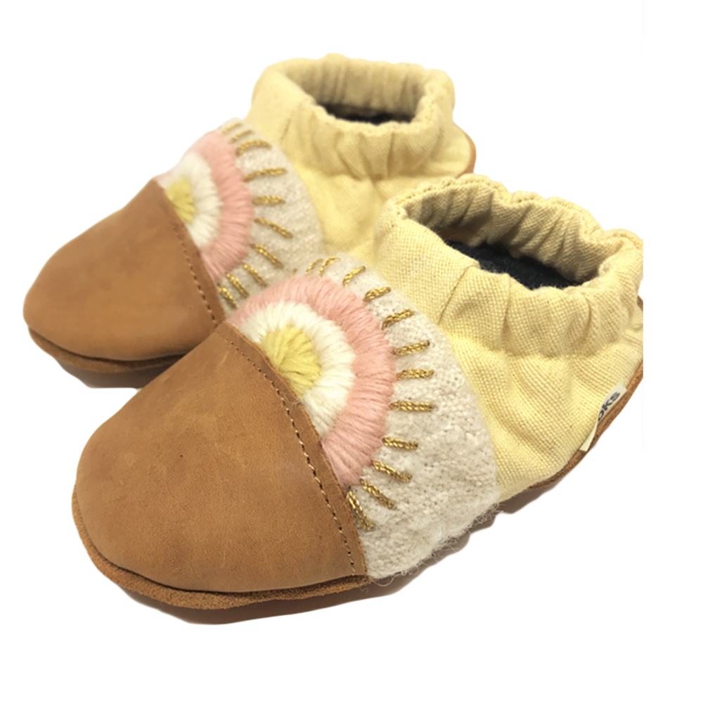 Breathable Booties | Cotton Canvas | 1 Pair | Singing Sands