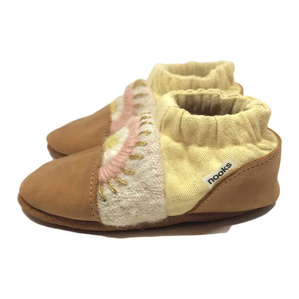 Nooks Design | Breathable Booties | Cotton Canvas | 1 Pair | Singing Sands