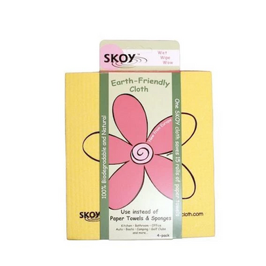 Pack of Skoy Reusable Earth-Friendly Cleaning Cloths