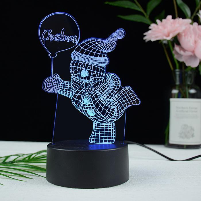Creative Christmas Gift 3D Night Light(BUY 1 GET 2ND 10% OFF)