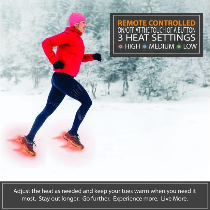 50%OFF Today Only - Rechargeable Heated Insoles