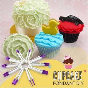 Fondant Crimper Tool Set