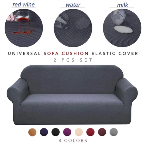 Universal Sofa Cushion Elastic Sofa Cover Lazy Sofa Cover (Order Today and Save 50%)