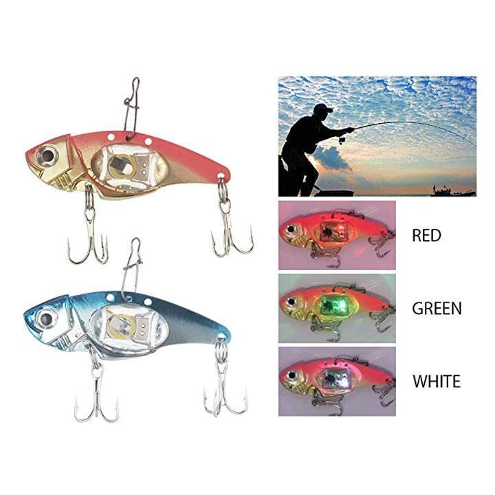LED Flashlight Fishing Bait - 5 Pack