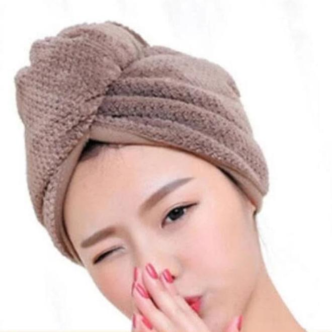 Rapid Drying Hair Towel - Upsell